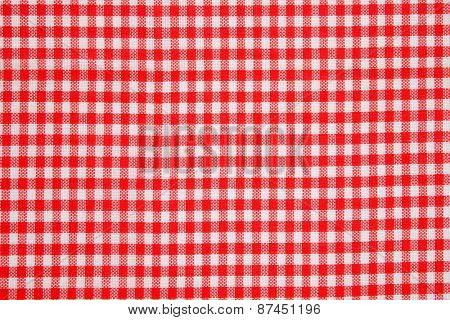 detail of red and white dishtowel backgrounds