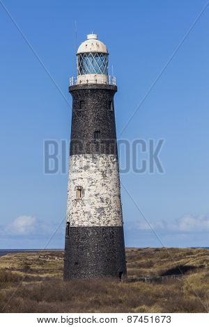 Lighthouse At Spurn Point, East Yorkshire, Great Britain