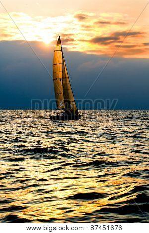 Sports yacht