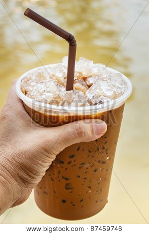 Iced Coffee.