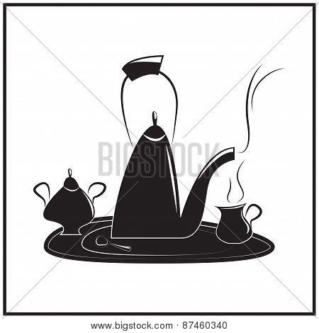 Illustration Of Tea-time