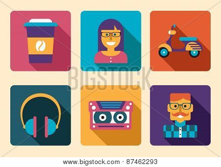 Hipster Icon Accessories