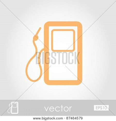 Gas Station Vector Icon
