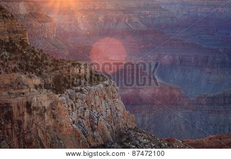 Grand Canyon Sunset, Arizona
