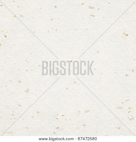 Brown recycled stained paper texture with copy space