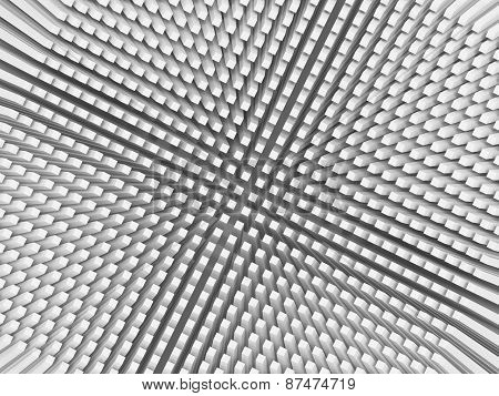 Abstract Digital Background With Invert Perspective Pattern