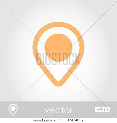 Map Pointer Vector Icon