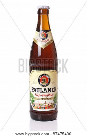 Paulaner wheat beer from Germany