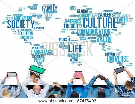 Culture Community Ideology Society Principle Concept