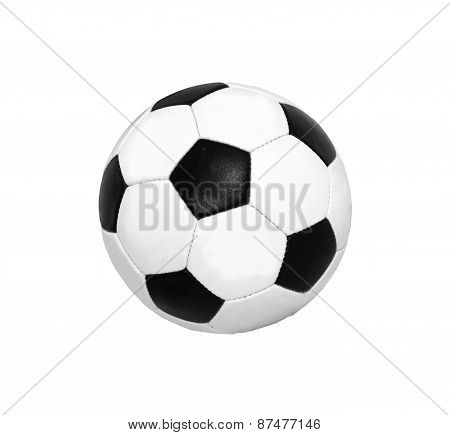 Soccer (football) Ball Isolated On White