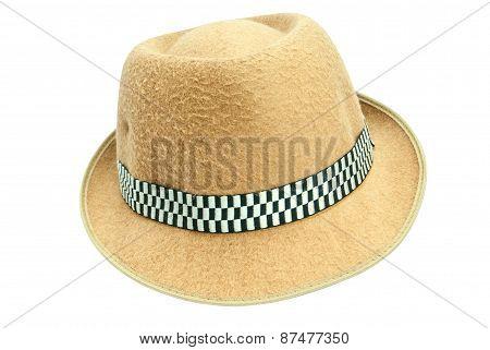 Brown Hat look like the cowboy