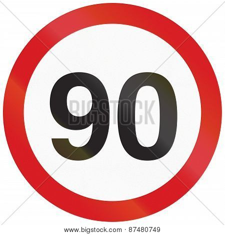 Speed Limit 90 In Argentina