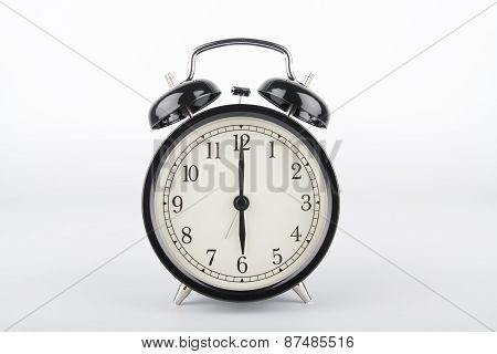 Six O'clock. Alarm Clock.