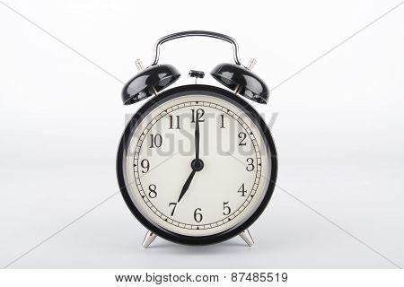 Seven O'clock. Alarm Clock.
