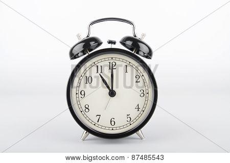 Eleven O'clock. Alarm Clock.