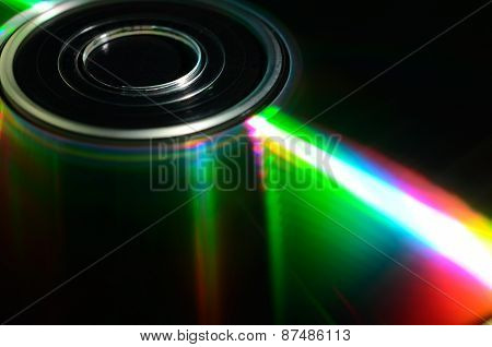 Laser compact disk.