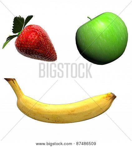 Photorealistic illustration fruits for Your desing