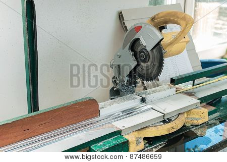 Circular Saw For Pvc Windows And Doors Manufacturing