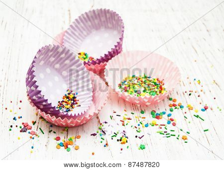 Empty Cupcake Cups