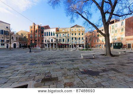 Campo Di Ghetto Nuovo, Venice