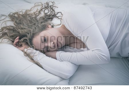 Woman In Deep Depression