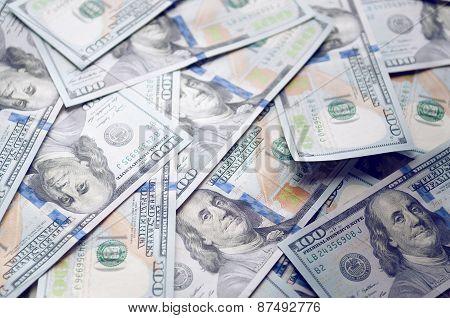 Money American dollar.