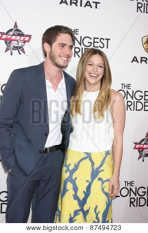 LOS ANGELES - FEB 6:  Kyle Jenner, Melissa Benoist at the