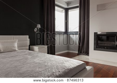 Exclusive Bedroom In Modern Residence