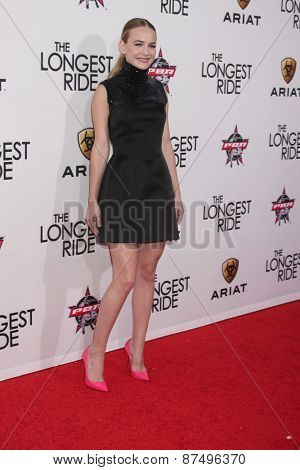 LOS ANGELES - FEB 6:  Britt Robertson at the