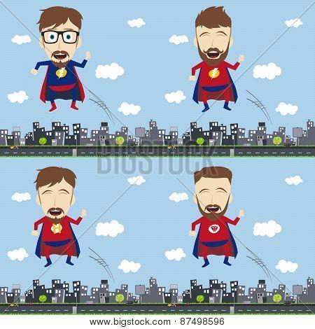 superhero character