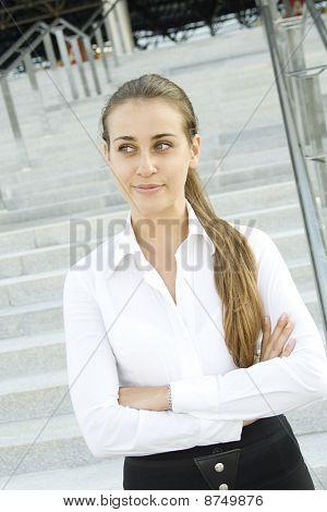 Modern professional business woman