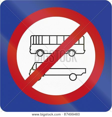 No Parking For Lorries Or Buses In Brunei