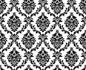 picture of damask  - Seamless damask pattern - JPG
