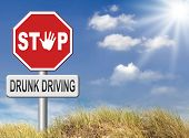 stock photo of driving  - drunk driving - JPG