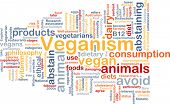 pic of vegan  - Background text pattern concept wordcloud illustration of veganism vegan - JPG