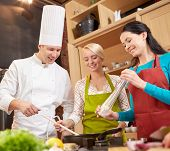 stock photo of chefs hat  - cooking class - JPG