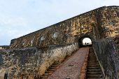 stock photo of el morro castle  - Castillo San Felipe del Morro El Morro - JPG