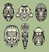 picture of african mask  - African Masks - JPG