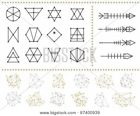 Set Of Geometric Hipster Shapes 972211