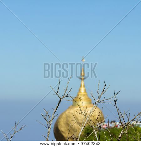 Kyaikhtiyo Pagoda, The most popular Pagoda of Myanmar.