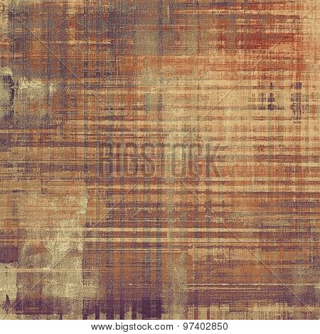 Background in grunge style. With different color patterns: yellow (beige); brown; purple (violet); gray