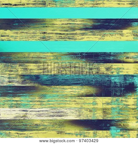 Old style detailed texture - retro background with space for text or image. With different color patterns: yellow (beige); brown; blue; cyan