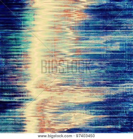Vintage texture for background. With different color patterns: yellow (beige); brown; blue; cyan