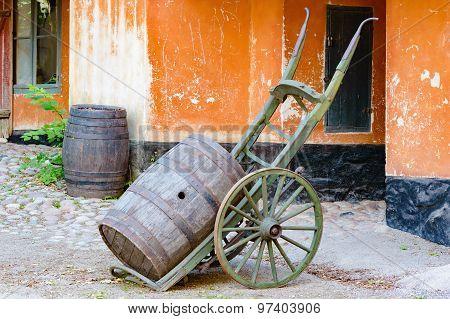 Transporting Barrel