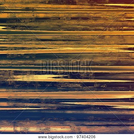 Grunge, vintage old background. With different color patterns: yellow (beige); brown; purple (violet); black