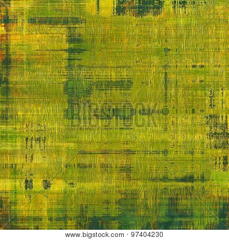 Grunge colorful background. With different color patterns: yellow (beige); brown; green