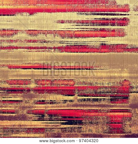 Retro background with grunge texture. With different color patterns: yellow (beige); brown; purple (violet); red (orange)