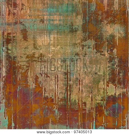 Grunge colorful background. With different color patterns: yellow (beige); brown; purple (violet); blue