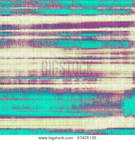 Vintage texture for background. With different color patterns: yellow (beige); purple (violet); blue; cyan