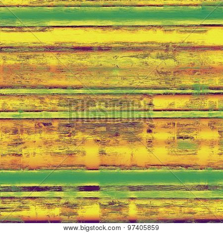 Rough vintage texture. With different color patterns: yellow (beige); brown; purple (violet); green